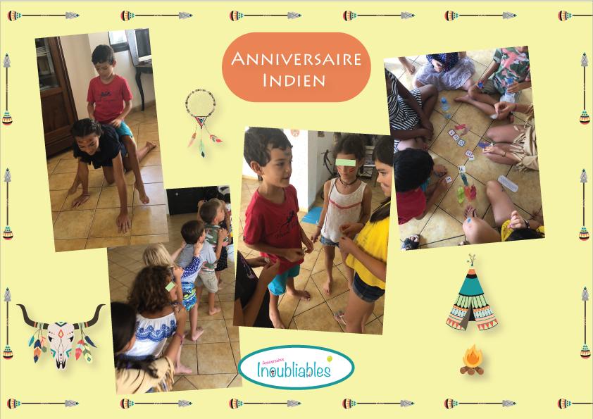 Activités anniversaire indien