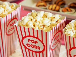 popcorn soirée pyjama